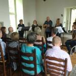 Blokfluitensemble van het Houtens Muziek Collectief 'La Mariposa'